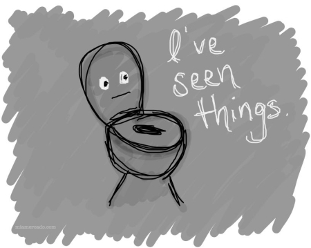 toilet seen things