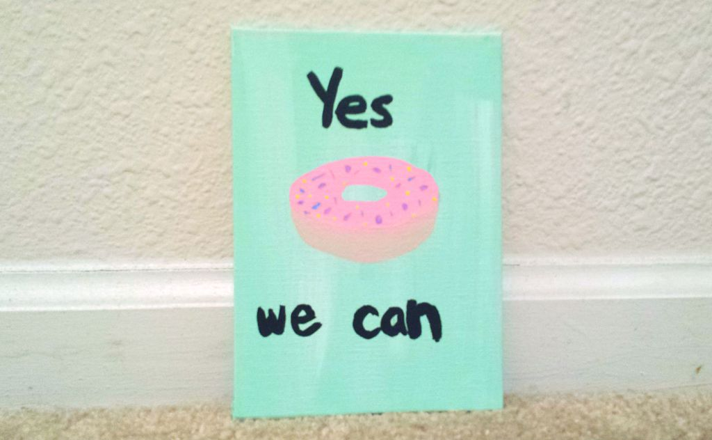yes we can donut
