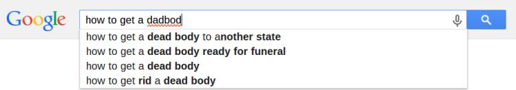 dadbod search results