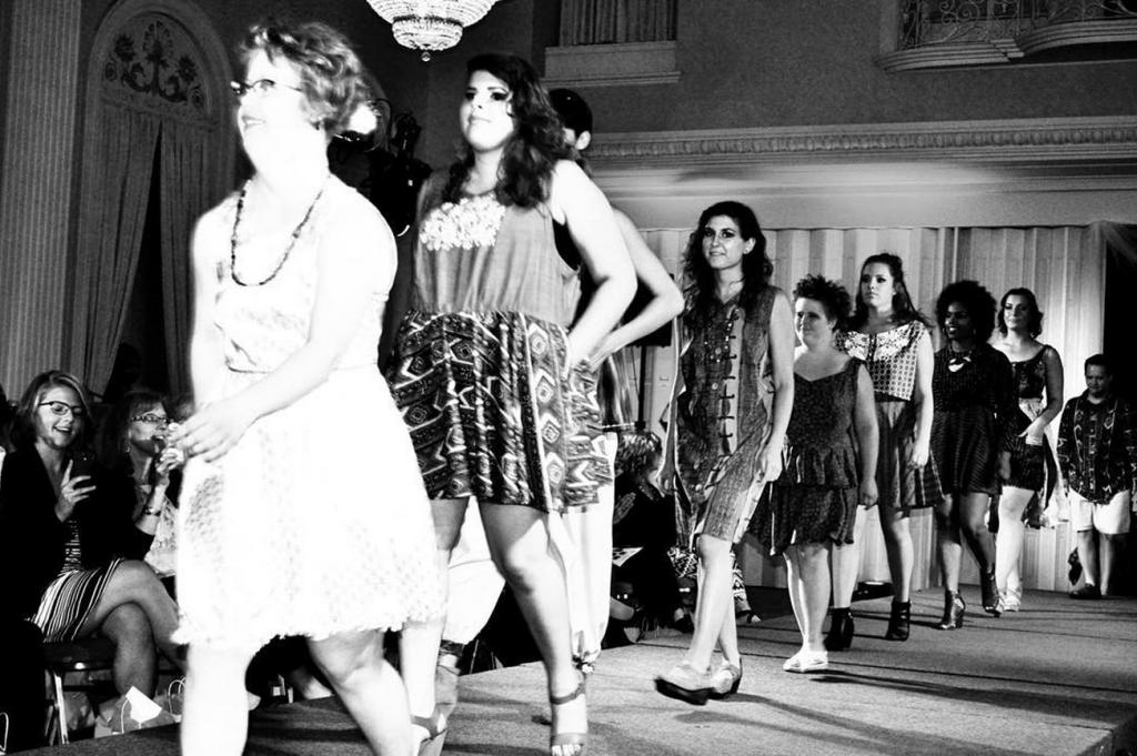 Ana Mercado Design in Milwaukee Fashion Week