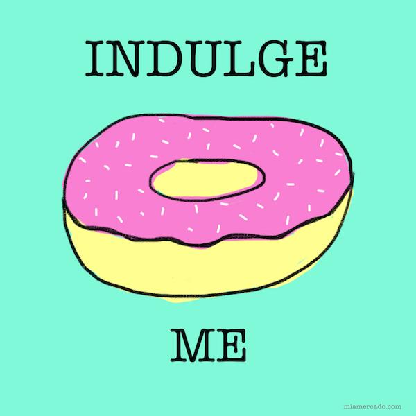 indulge me donut