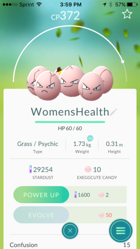 renamed exeggcute