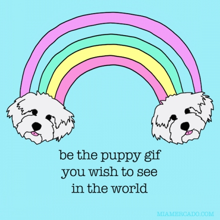 be the cute puppy gif you wish to see in the world